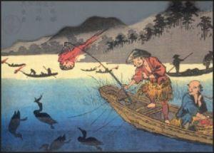 20090819-Cormorant_fishing_by_Eisen in Japan
