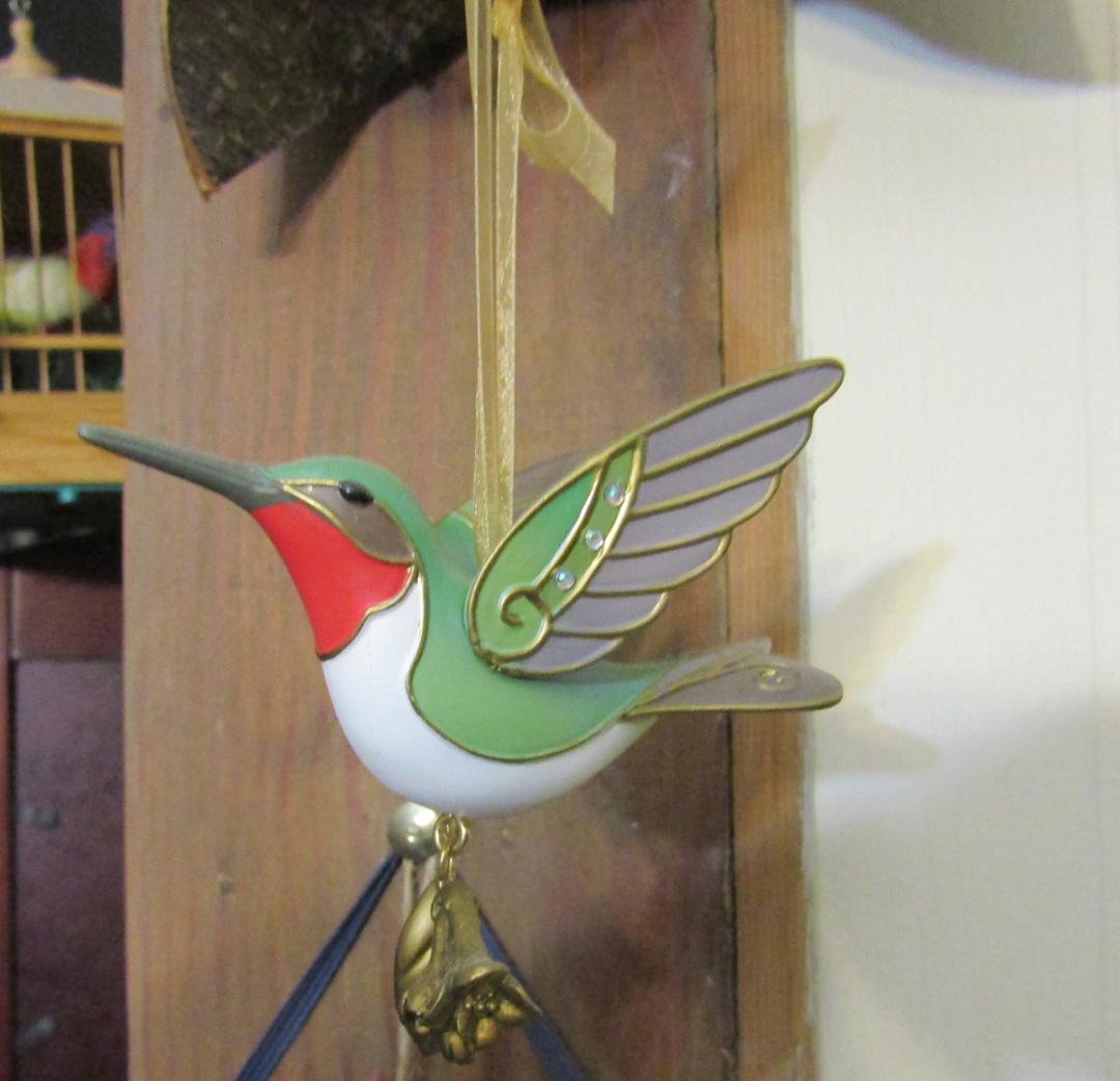 Hummingbird-Ornament